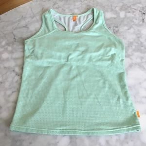 Lucy Activewear racerback top, size XS
